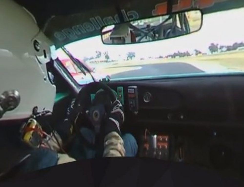 360fly 360 degree In-car footage from Round 1 @ Winton!