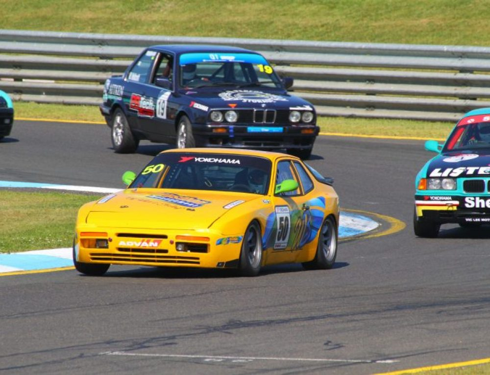 Historic Round Exhibition Event. Sandown – Race 1