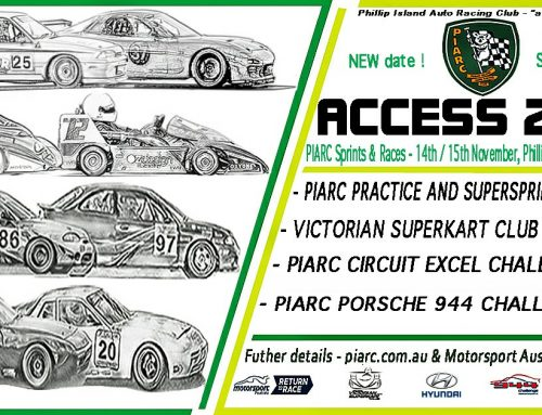 Entries open for Phillip Island Access Event on November 15!